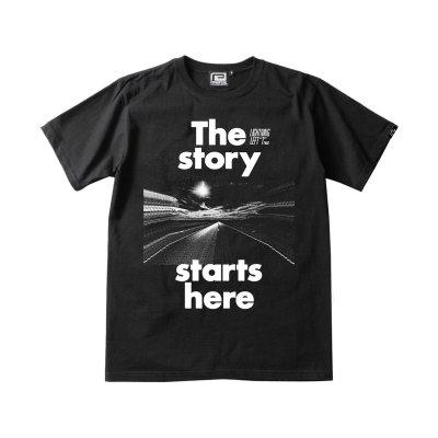 画像1: 【那須川天心】 LLT×rvddw「THE STORY STARTS HERE TEE」 Tシャツ