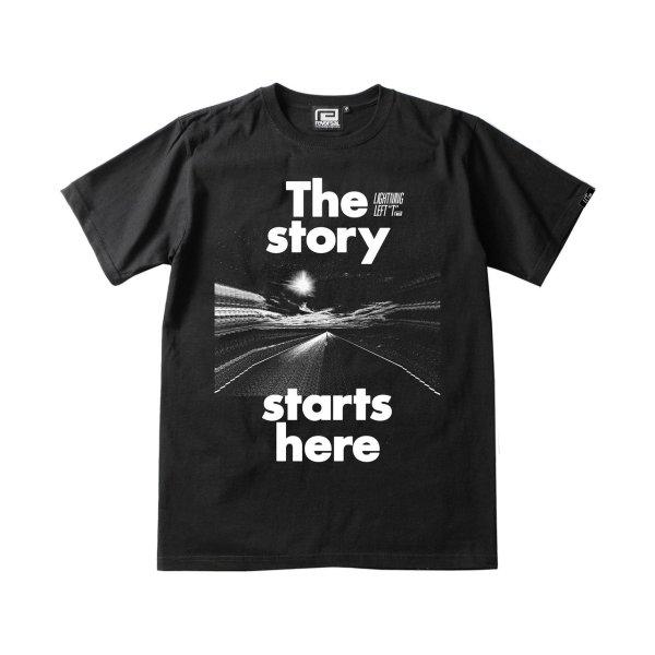 画像1: 【那須川天心】 LLT×rvddw「THE STORY STARTS HERE TEE」 Tシャツ (1)