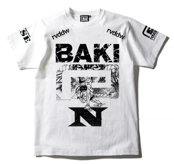 画像1: 【那須川 天心】 刃牙コラボ  オリジナルTシャツ (1)